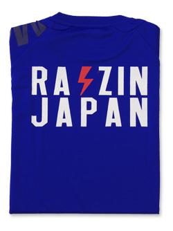 2018 JKF×デサント JAPAN Tシャツ (ブルー)画像