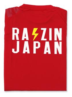 2018 JKF×デサント JAPAN Tシャツ (レッド)画像